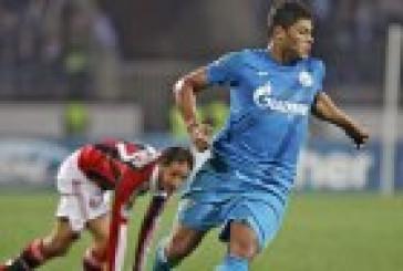 Зенит выходит в Лигу Европы, обыграв гостях Милан