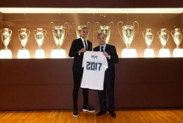 Пепе продлил контракт с Реалом до 2017