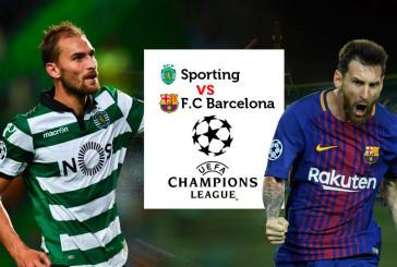 Спортинг – Барселона 27.09.2017 прогноз на матч