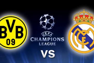 Боруссия Дортмунд – Реал Мадрид 26.09.2017 прогноз на матч