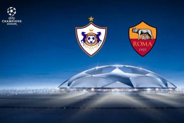 Карабах – Рома 27.09.2017 прогноз на матч