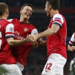 Арсенал — Наполи 2-0. Видео голов