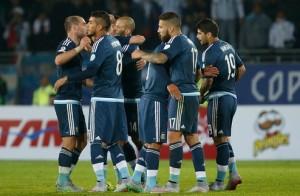 Argentina v Uruguay: Group B - 2015 Copa America Chile