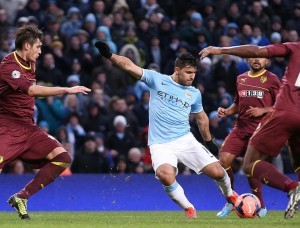 Manchester City vs Watford  - Coupe Angleterre - Manchester  - 25/01/2014