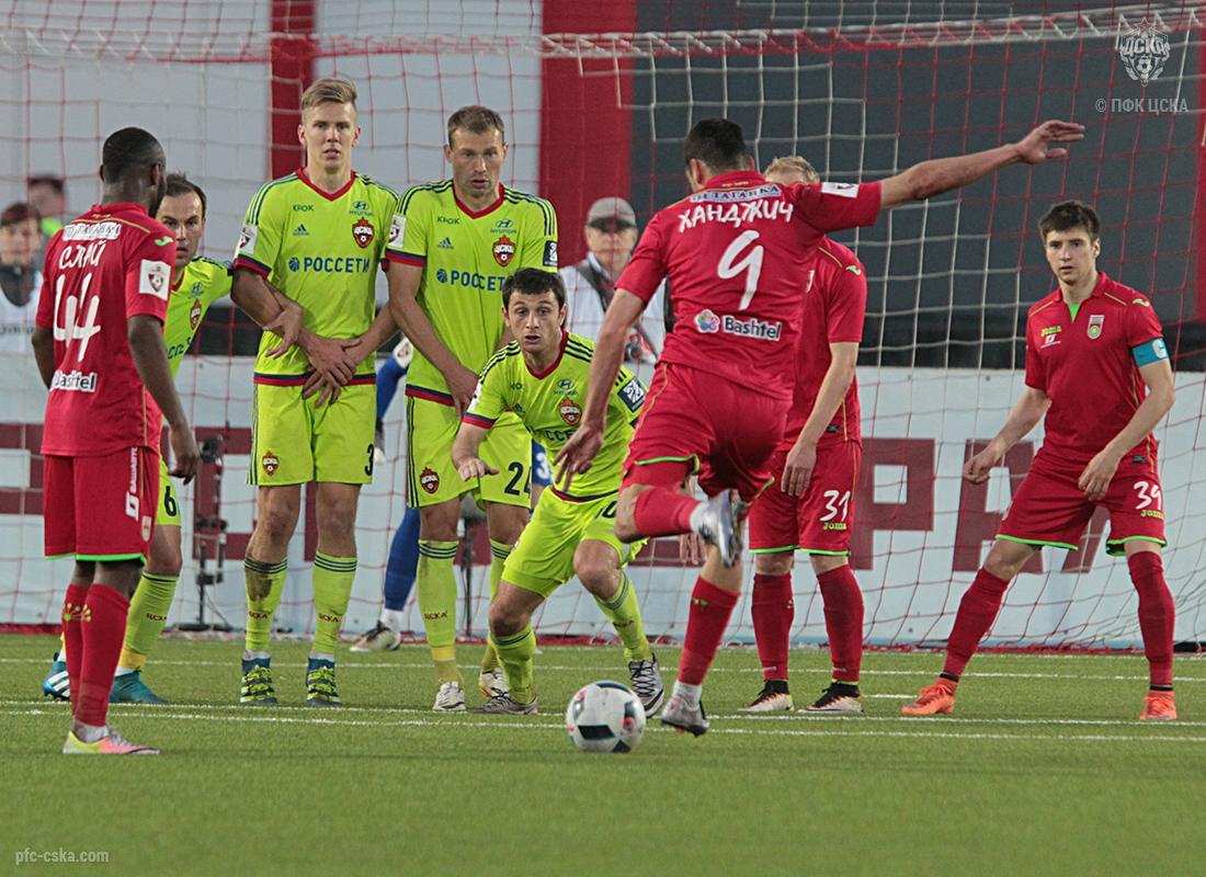 Цска уступил в первом товарищеском матче штурму 1-2