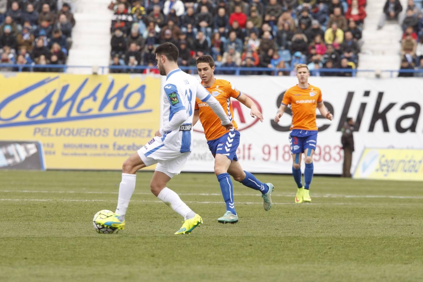 Alaves leganes liga adelante . Vitoria, 28-02-2016. Fotografia Rafa Gutierrez